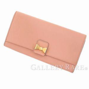 「リボンミニボビー」の二つ折り財布
