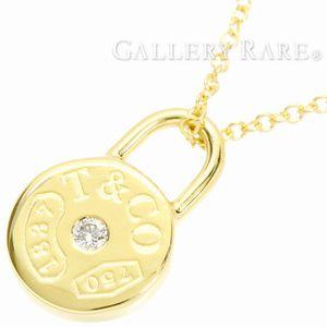 ティファニー「1837サークルラウンドロック」1Pダイヤモンドネックレス