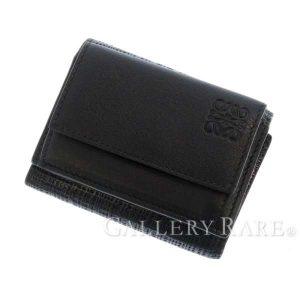 三つ折財布 レザー