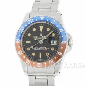 GMTマスター レッド ブルーベゼル 8番 ダブルスイス アンダーライン